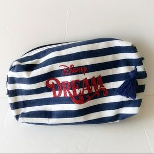 Disney Dream Cruise Line tassel pull makeup bag